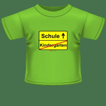 lustiges T-Shirt Kindergarten-Schule