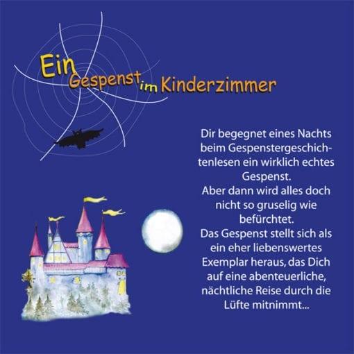 Hörbuch - Ein Gespenst im Kinderzimmer