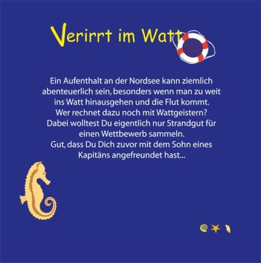 Hörbuch - Verirrt im Watt
