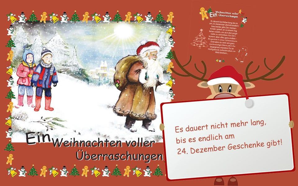 Hörbuch mit Deinem Namen Weihnachten voller Überraschungen