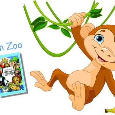 Kinderbuch im Zoo