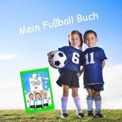 Fussball Kinderbuch mit Deinem Namen