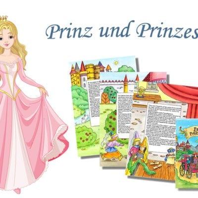 Prinz und Prinzessin