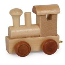 Namenszug Holzspielzeug - Lok