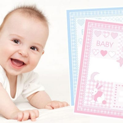 personalisierte Babydecke