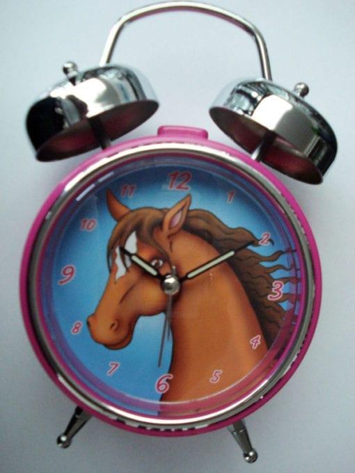 Kinderwecker Motiv Pferd