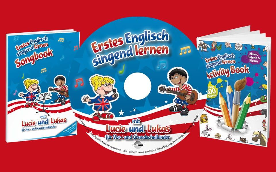 Erstes Englisch – singend lernen mit Lucie und Lukas
