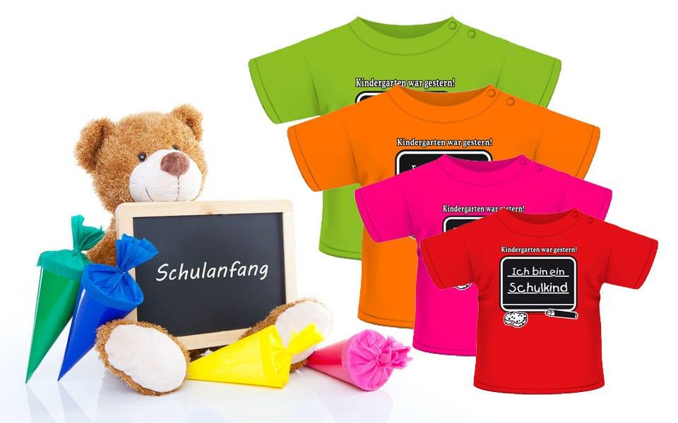 T-Shirt – Ich bin ein Schulkind …