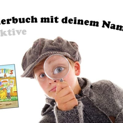 Detektive Kinderbuch mit deinem Namen