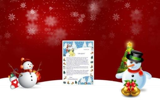 Ein Brief vom Weihnachtsmann