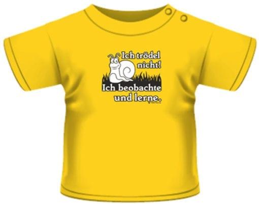 lustiges Kinder T-Shirt gelb