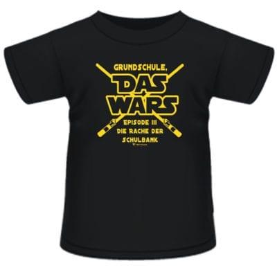 """Kinder T-Shirt """"Grundschule Das wars"""""""