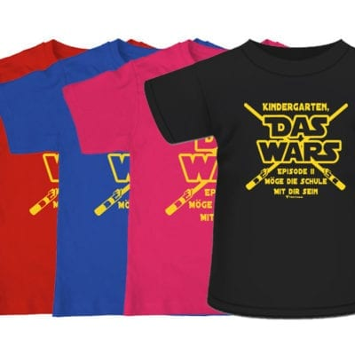 T-Shirt Kindergarten das wars