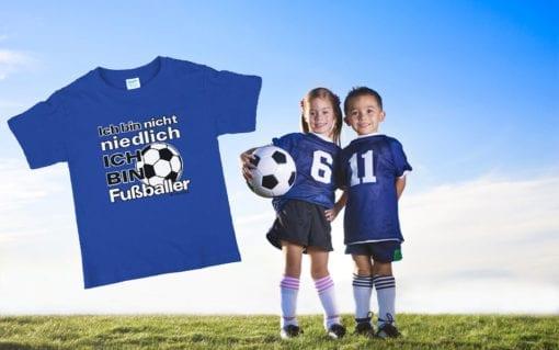 T-Shirt - Ich bin ein Fussballer