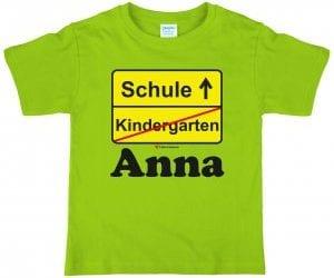 T-Shirts für Schulanfänger