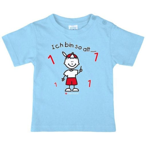 Kinder T-Shirt Alter 1