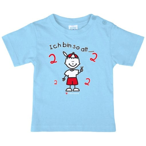 Kinder T-Shirt Alter 2