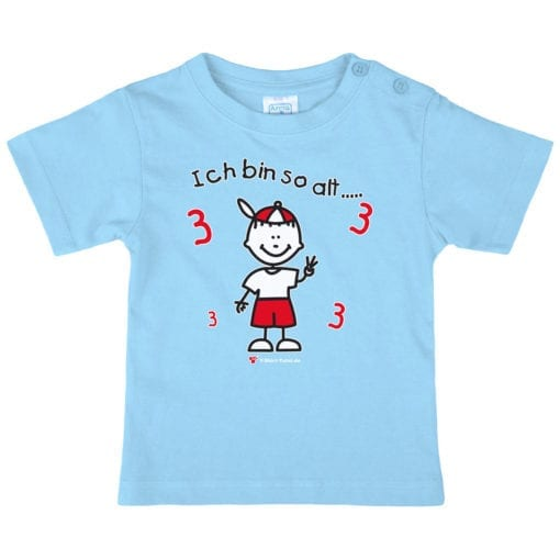 Kinder T-Shirt Alter 3