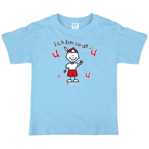 Kinder T-Shirt Alter 4