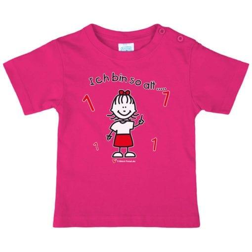 Kinder T-Shirt für Mädchen Alter 1