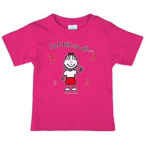 Kinder T-Shirt für Mädchen Alter 3