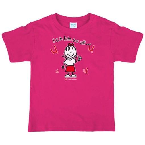 Kinder T-Shirt für Mädchen Alter 4