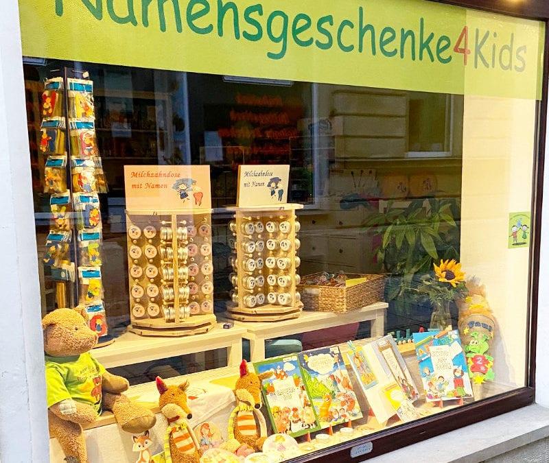Ladengeschäft Namensgeschenke4Kids in Bad Schandau